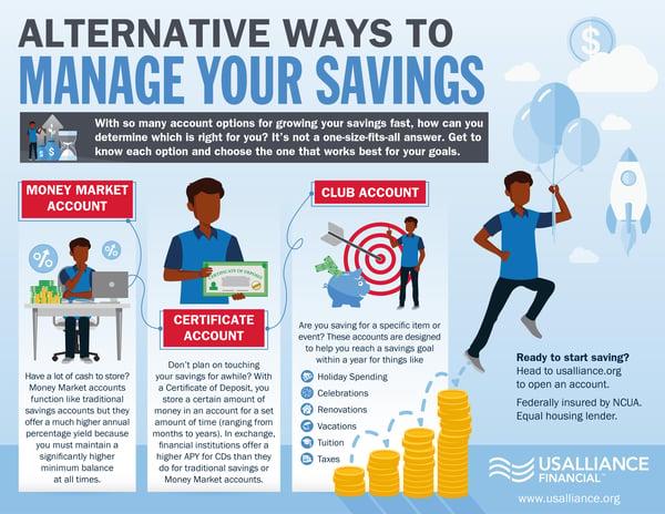 Alternative Ways to Manage Your Savings