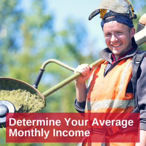 Determine-Avg-Monthly-Income
