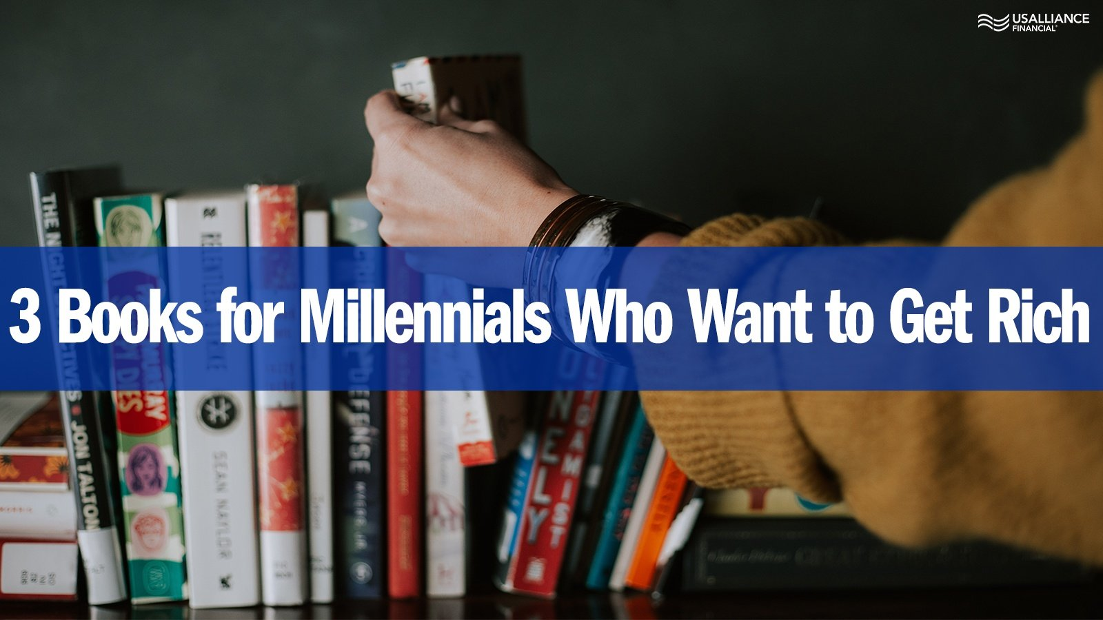 3 Books for Millennials who Want to Get Rich