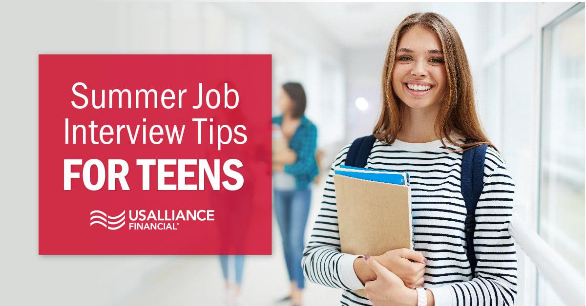 usalliance-teen-job-interview-tips-summer